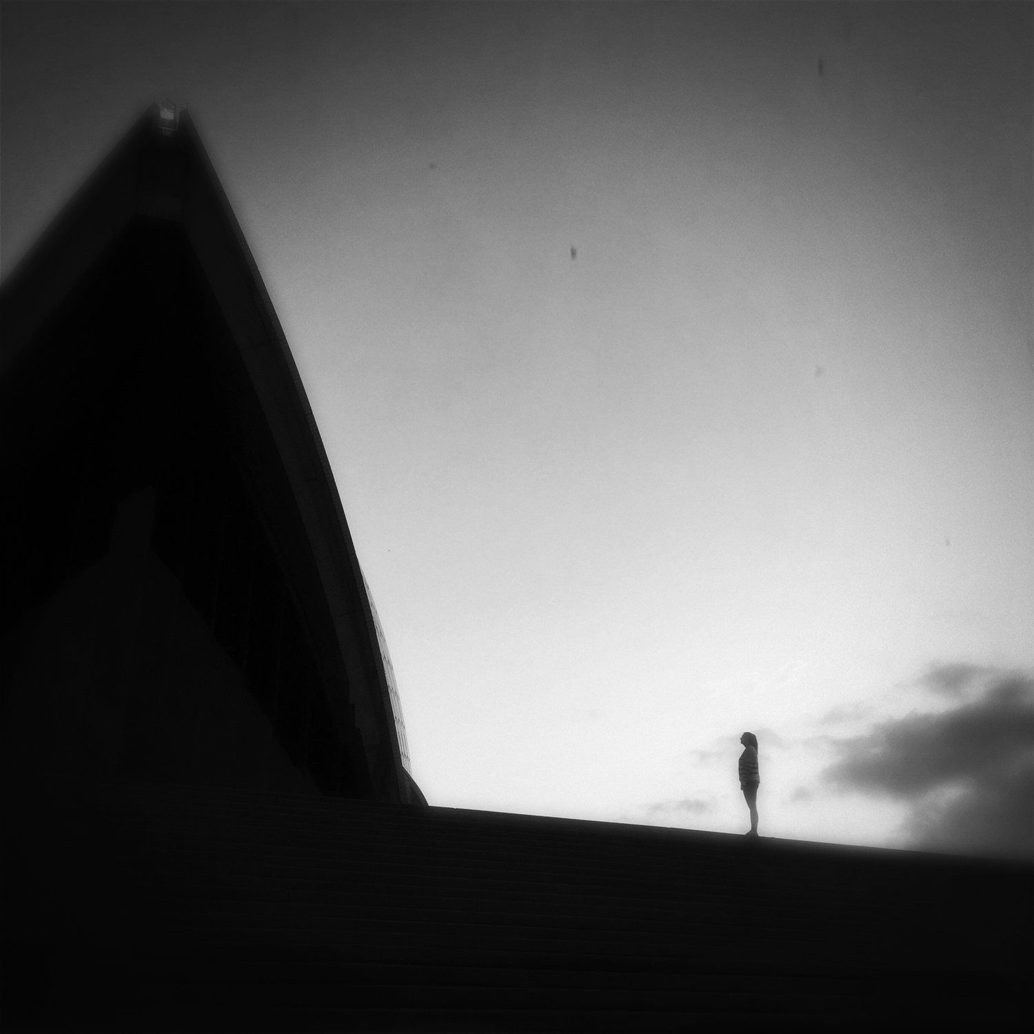 """Perspective"" Early Sydney Opera House capture"